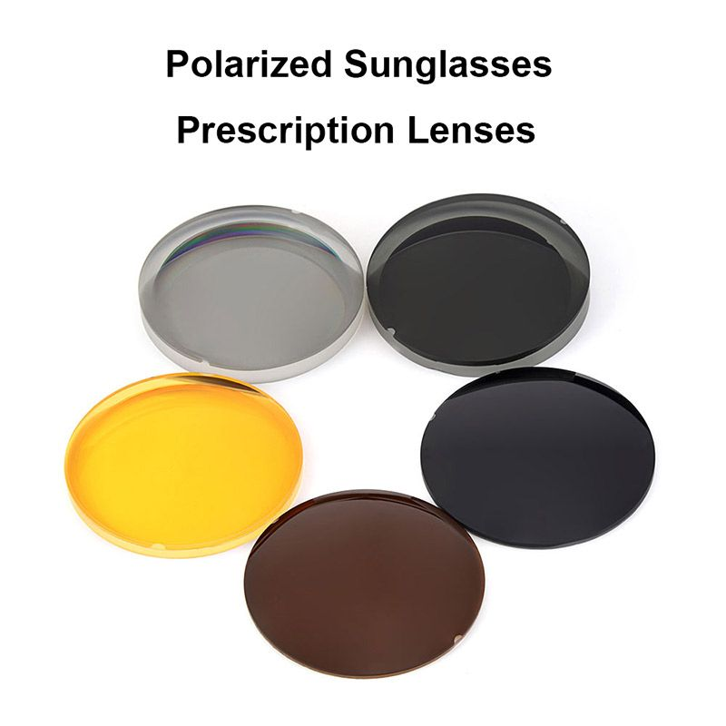 Logorela 1,499 CR-39 Polarisierte Sonnenbrille Rezept Optische Linsen Für Fahren Angeln UV400 Anti-Glare Polarisierte Linsen