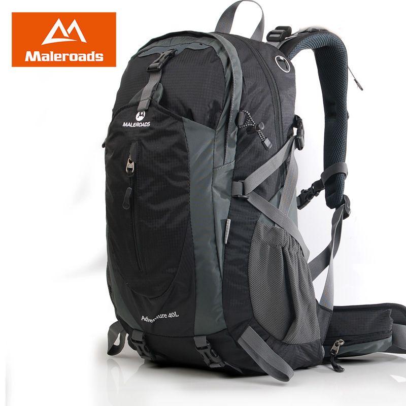 50L Backpack Maleroads Camping Backpack Hiking Rucksack Outdoor Sport Daypack Climbing Mountain Backpack for Women Men Female