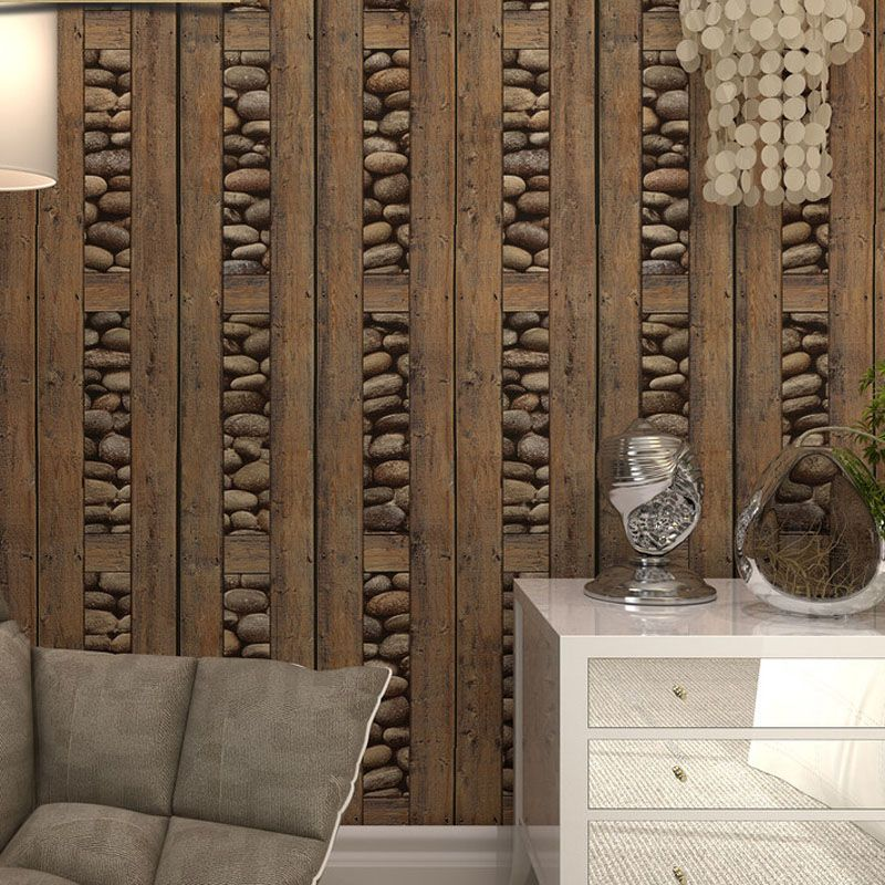 Винтаж кирпич обои 3d ПВХ дерева, камня водонепроницаемый документы стены Home Decor Персонализированные свяжитесь с виниловые стеновые панели ...