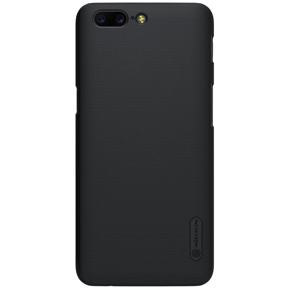 One Plus 5 A5000 étui OnePlus 5 étui Original NILLKIN Super givré bouclier couverture arrière pour OnePlus 5 avec emballage au détail