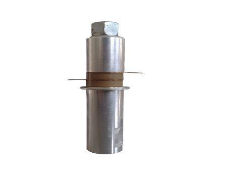 28kkhz/100W ultrasonic welding transducer UCE-UWT28100 P8,high power ultrasonic transducer