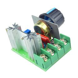 AC 2000 Вт 220 В scr Напряжение регулятор затемнения Диммеры Скорость контроллер электронный термостат Напряжение Регулятор модуль В наличии