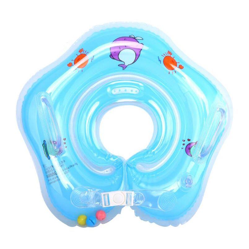 Новый плавательный Аксессуары для младенцев плавать шею кольцо для кольцо Детская безопасность младенческой шеи Float круг для купания надув...