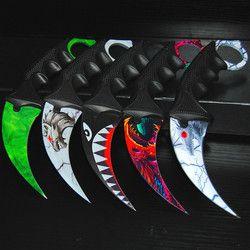 CS UNTERWEGS Schmetterling in messer Karambit klappmesser training knife messer geschenk balisong Praxis messer nicht geschärft metall