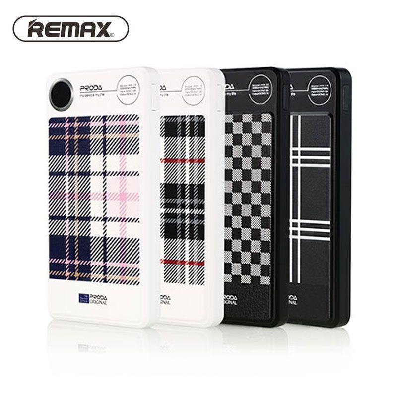 Remax 20000 mAh banque de Puissance de Charge Rapide 2.1A Double Sortie Avec chargeur de Batterie Externe Pour Samsung iPhone Xiaomi téléphone Portable