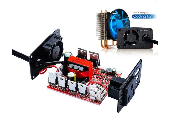 300W Car Inverter 12V to 220V Power Converter Booster USB 4.2A