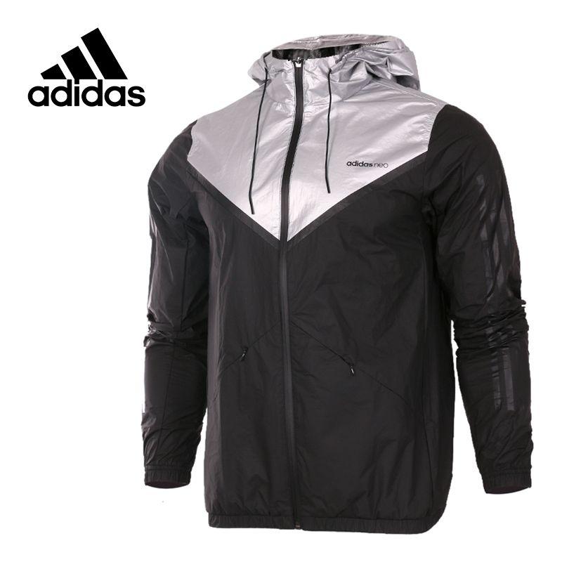 Original Neue Ankunft Offizielle Adidas NEO Männer Winddichte Jacke Kapuze Sport