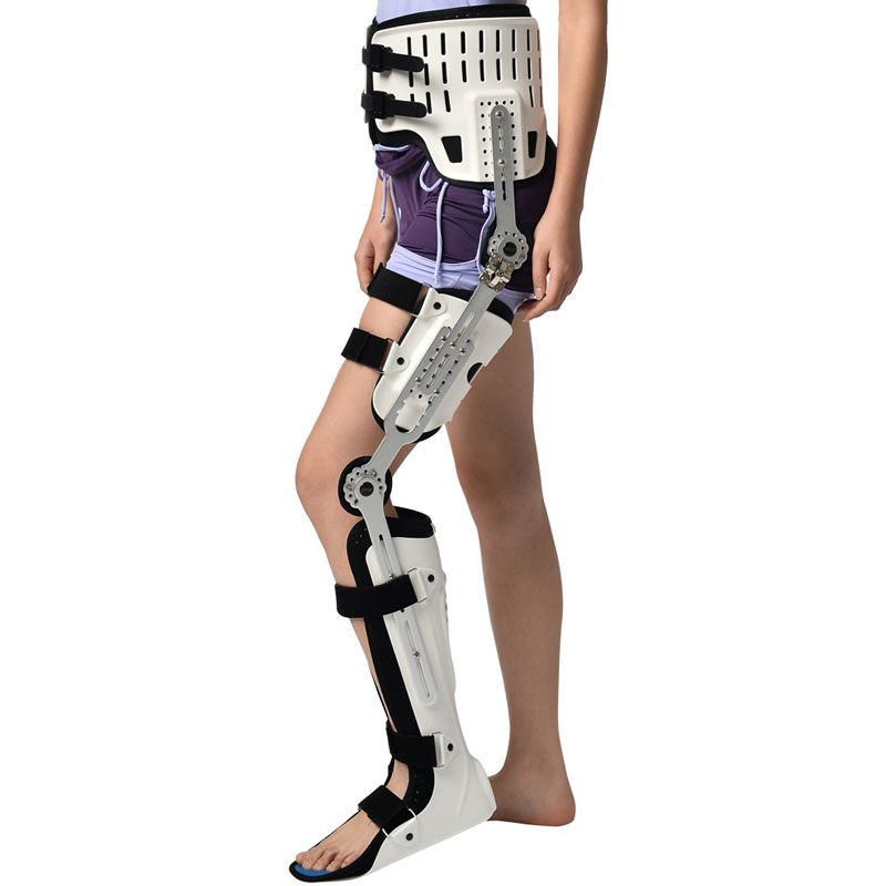 HKAFO For Both Sides Hip Knee Ankle Foot Orthosis For Hip Fracture Femoral Femur Fracture Hip Instability Fixation Of Lower Limb