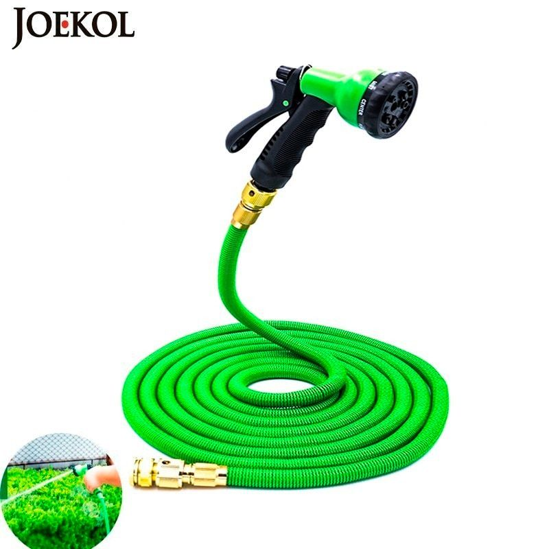 High Quality 25Ft-200Ft EU Flexible Expandable Garden Water Hose Magic Plastic Hoses Pipe With Spray Gun To Watering,Car Wash