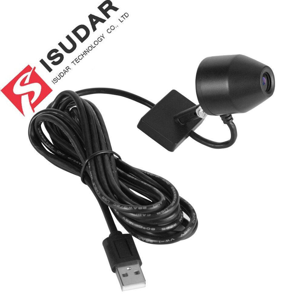 Isudar Car Front Camera video recorder USB DVR SD CARD 32GB for ROCKCHIP Android 7.1 8.0 Car Multimedia player GPS