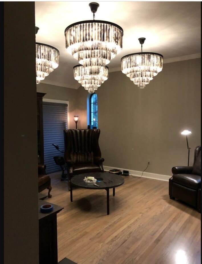 Marmor kronleuchter wohnzimmer lampe engineering lampe benutzerdefinierte lampen hohe-grade kronleuchter