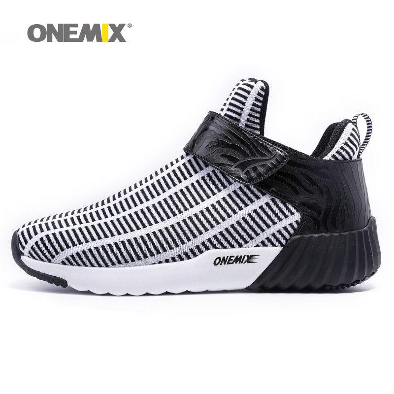 Newest Onemix warm height increasing shoes winter men & women sports shoes outdoor men's running shoes size EU 36-46