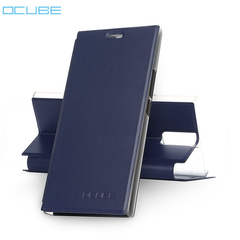 Ocube Oukitel K3 Case With Back Cover Luxury Stand Style Protective Leather Flip Case For Oukitel K3 mobile phone
