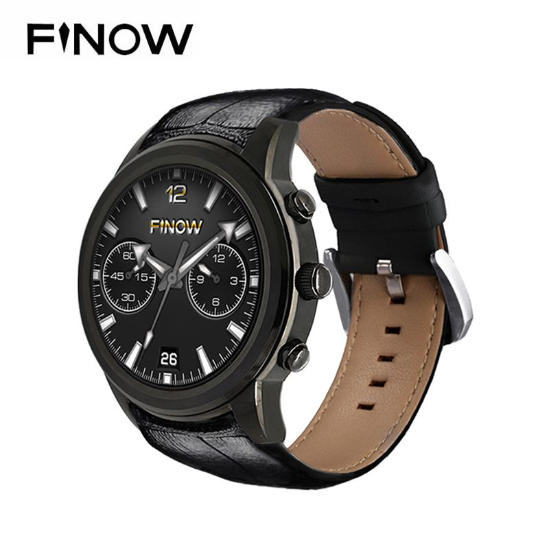 Finow X5 Air Smart Watch Ram 2GB/Rom <font><b>16GB</b></font> New MTK6580 wearable devices Bluetooth Watchphone Android 5.1 3G Smartwatch for IOS