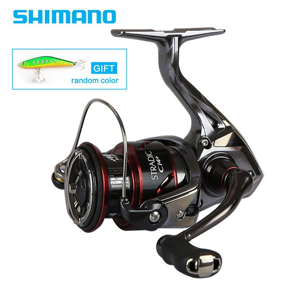 SHIMANO Original STRADIC CI4 + 1000 2500 C3000 4000 Spinning Angeln Reel 6 + 1BB 6,0: 1/6. 2:1 X-Schiff MGL ROTOR Spinning