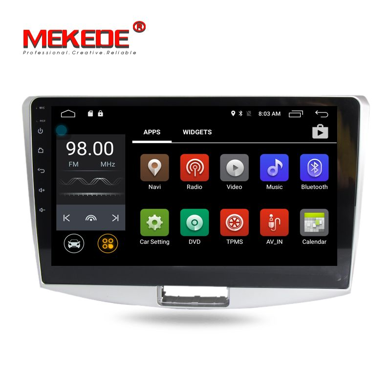 HD 1024X600 10,1 zoll Android 7.1 Auto dvd GPS Navigation Auto-Radio-Player Für Volkswagen Magotan Passat CC B6 b7 2012-2015