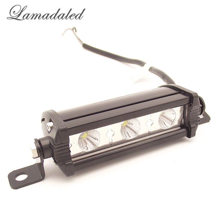Lamadaled véhicule 9 w led travail light bar ATV hors route 4 pouces spot lampe pour 4x4 Offroad SUV De Voiture Camion Remorque Tracteur UTV