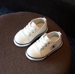 2018 niños de la lona del resorte Zapatos chica zapatillas transpirable Zapatos Niños y Niñas no huele mal Pies suave chaussure/niños sneakers