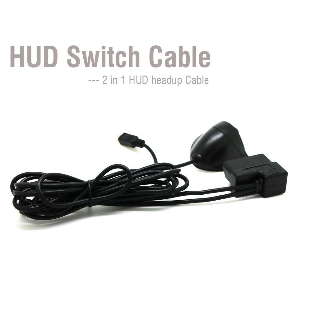 16 Булавки диагностический кабель-удлинитель OBD 2 Переключатель HUD кабель для автомобиля HUD Дисплей 5.5 5.5pro A8