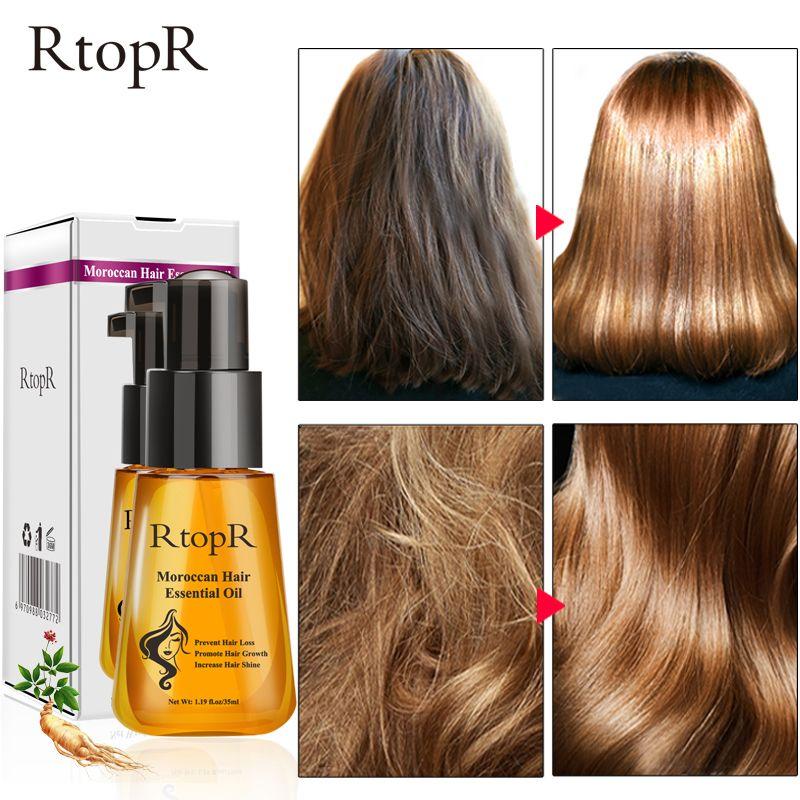 Marocaine Prévenir la Perte de Cheveux Produit La Croissance des Cheveux huile essentielle Facile À Transporter Cheveux Soins Infirmiers 35 ml À La Fois mâle et femelle peut utiliser