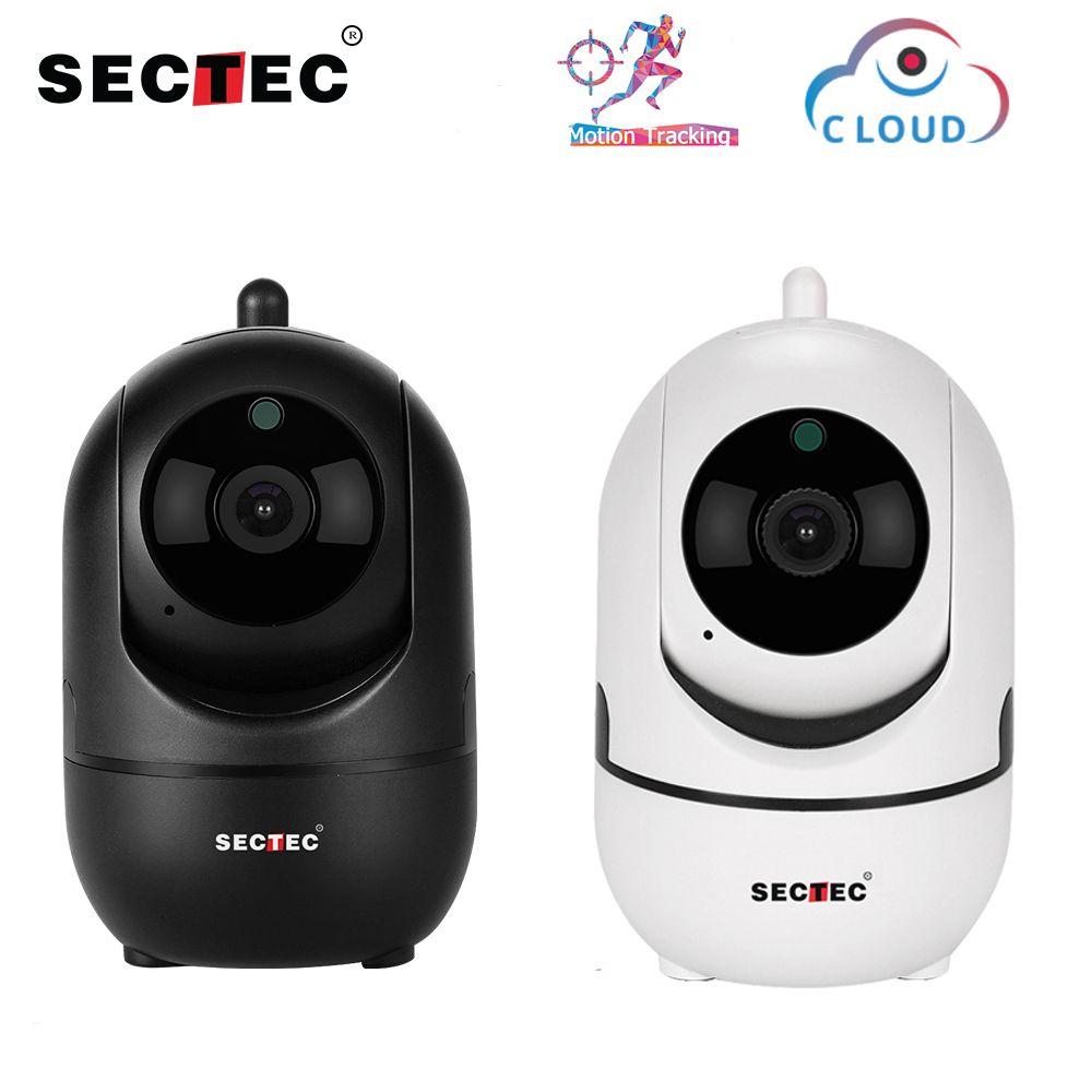 Caméra IP sans fil SECTEC Cloud 1080 P suivi automatique Intelligent de la Surveillance de la sécurité à domicile humaine réseau CCTV Wifi Cam