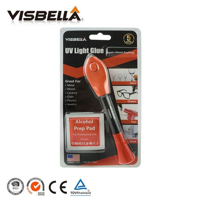 5 второй исправить visbella жидкости Пластик сварки УФ исправить свет отверждения клея ручка быстросохнущие внутренний все назначения УФ-клея