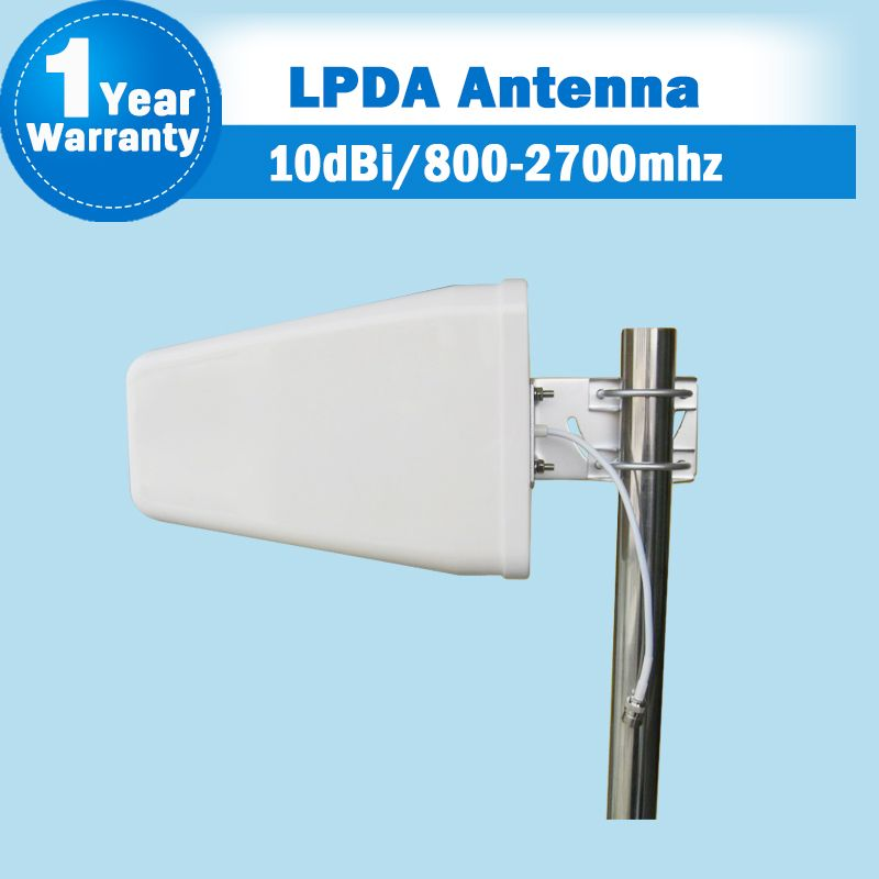 GSM 2G 3G 4G 800-2700MHz 3G WCDMA 4G LTE 2600 Outdoor LPDA Log Periodic Antenna External Antenna Mobile Phone Siganl Booster S35