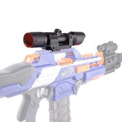 Modified Part Front Tube Sighting Device for Nerf Elite Series - Black