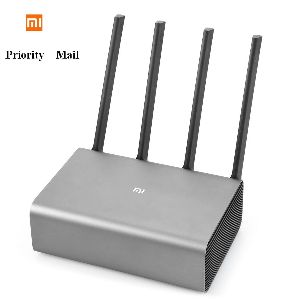 Original Xiaomi Mi R3P 2600Mbps Smart Wireless Router Pro 4 Antenna Dual-band 2.4GHz + 5.0GHz WiFi Network Device Priority Mail