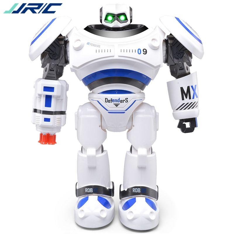 JJR/C JJRC R1 Programmable Defender Intelligente RC Télécommande Jouet Robot De Danse pour Enfants D'anniversaire de Vacances Cadeau Présent VS R2