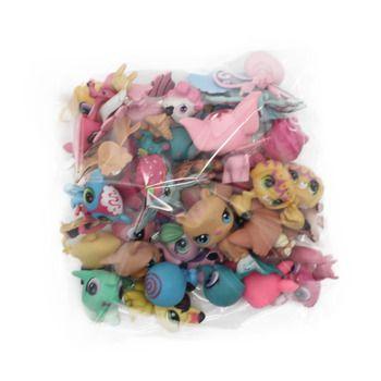 Chanycore MIGNON POUPÉE modèle lps Jouet sac 20 Pcs/sac Petit Animal de Compagnie boutique Mini Jouet Animal Chat patrulla canina chien jouets pour enfants