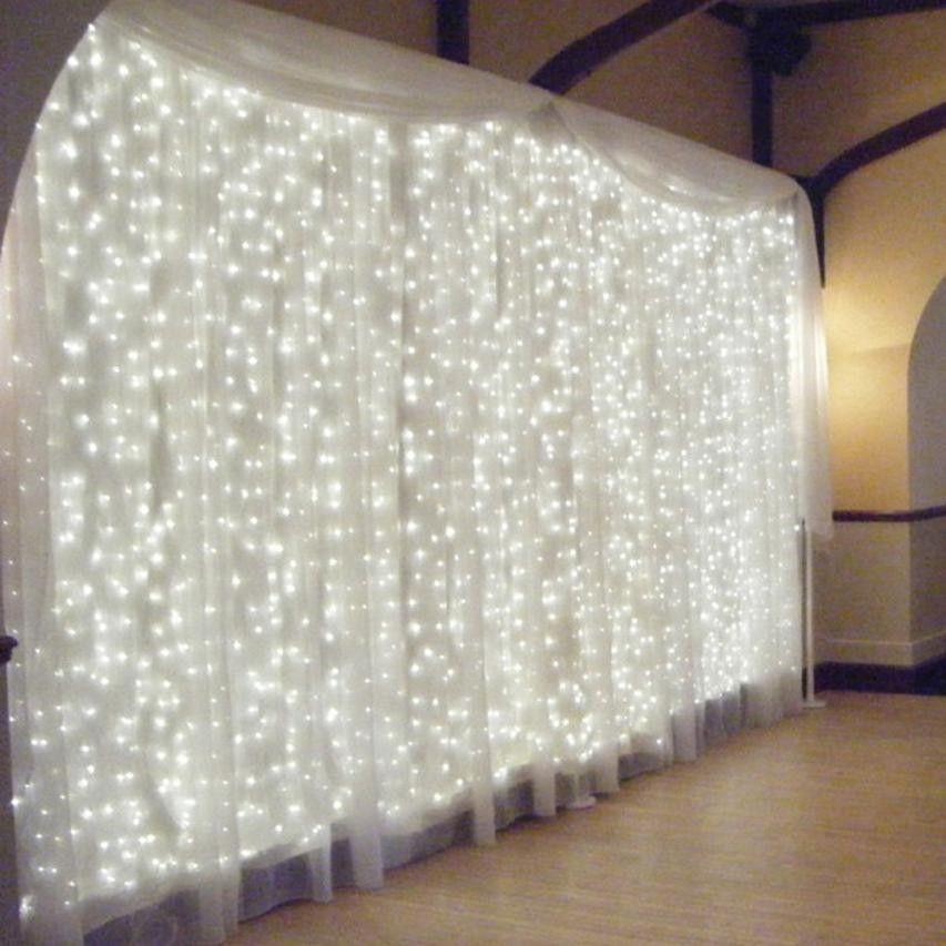 300 Led Curtain Lights Party Wedding Fairy Indoor Outdoor Christmas Garden For Wedding/Party/Curtain/Garden Decoration