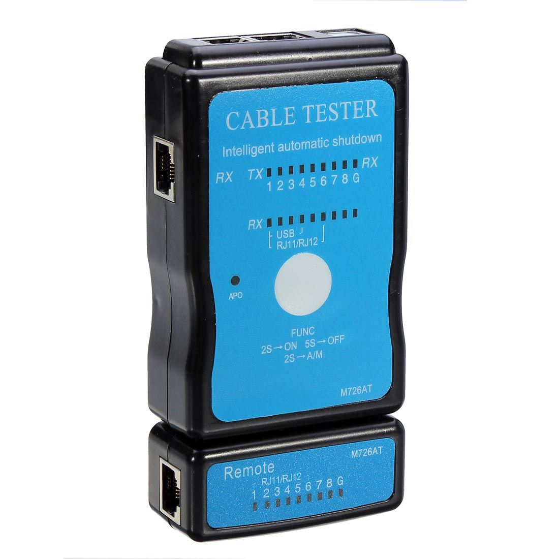 Universel 2 Modes Câble Testeur LAN Micro USB Standard RJ45 RJ11 RJ12 Réseau Ethernet pour CAT5 Testeur Unité Principale de Réseautage outils