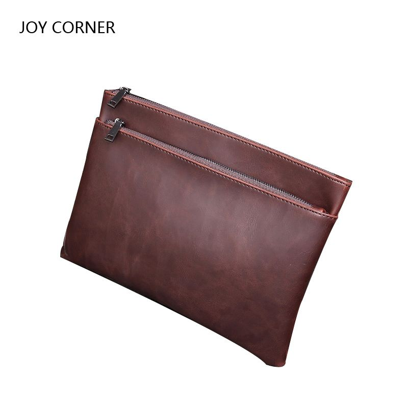 Paper Folder for Document Leather Folders Documents File Bag Document Storage Filing Bag Stationary Store Portfolio JOY CORNER