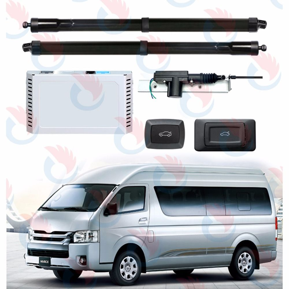 Smart Auto Electric Tail Gate Lift Special for Toyota Hiace standard version with easy closer 2012-2017