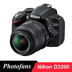 Nikon  D3200 DSLR Camera with 18-55mm Lens  -24.2MP DX-Format -Full HD 1080p Video