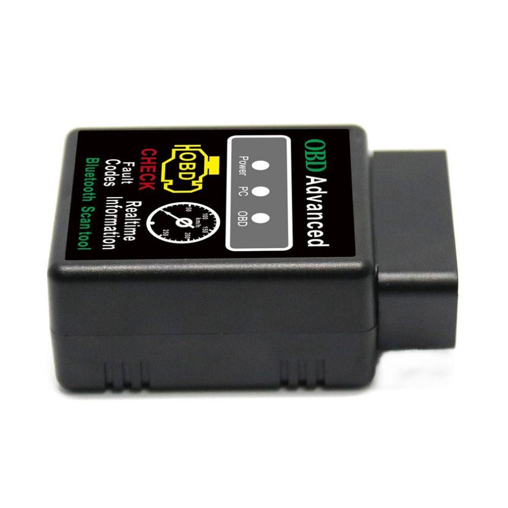 Mini ELM327 V2.1 Bluetooth HH OBD Advanced OBDII OBD2 ELM 327 Car Diagnostic Scanner code reader scan tool for Android