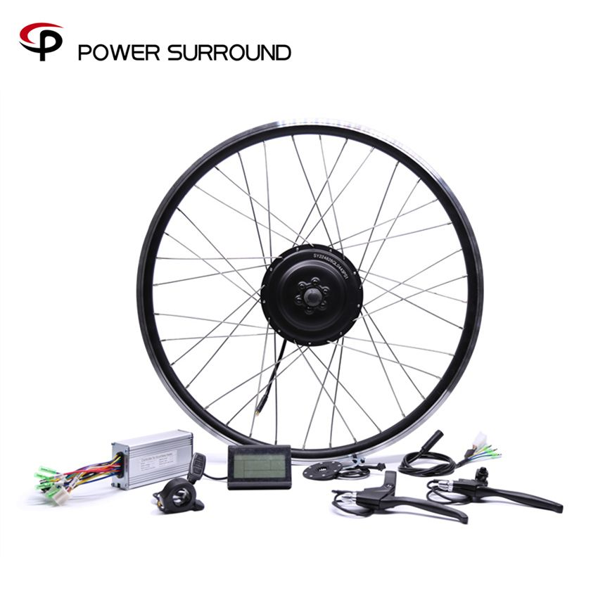 Bicicleta Eletrica 48v500w Bafang Front/rear Electric Bike Conversion Kit Brushless Hub Motors 20'' 26'' 28''diy Wheel