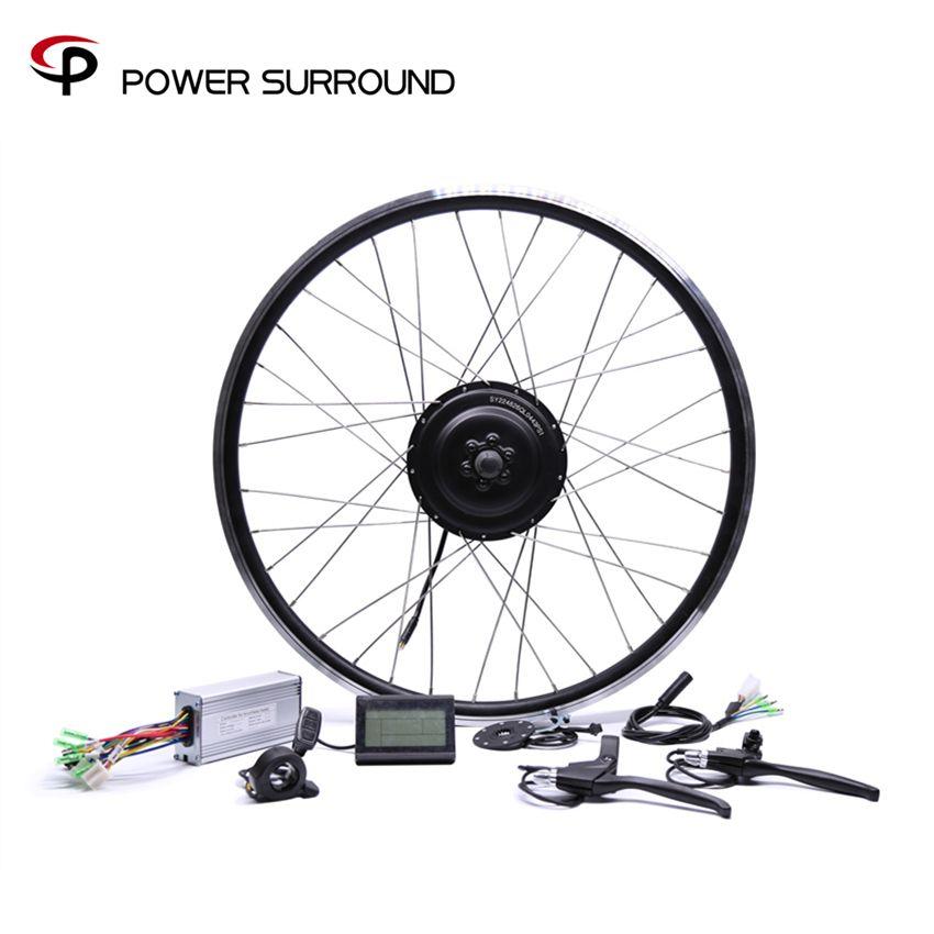 Bicicleta Eletrica 48v500w Bafang Vorne/hinten Elektrische Fahrrad Umbausatz Brushless Hub Motoren 20 ''26'' 28''diy Rad