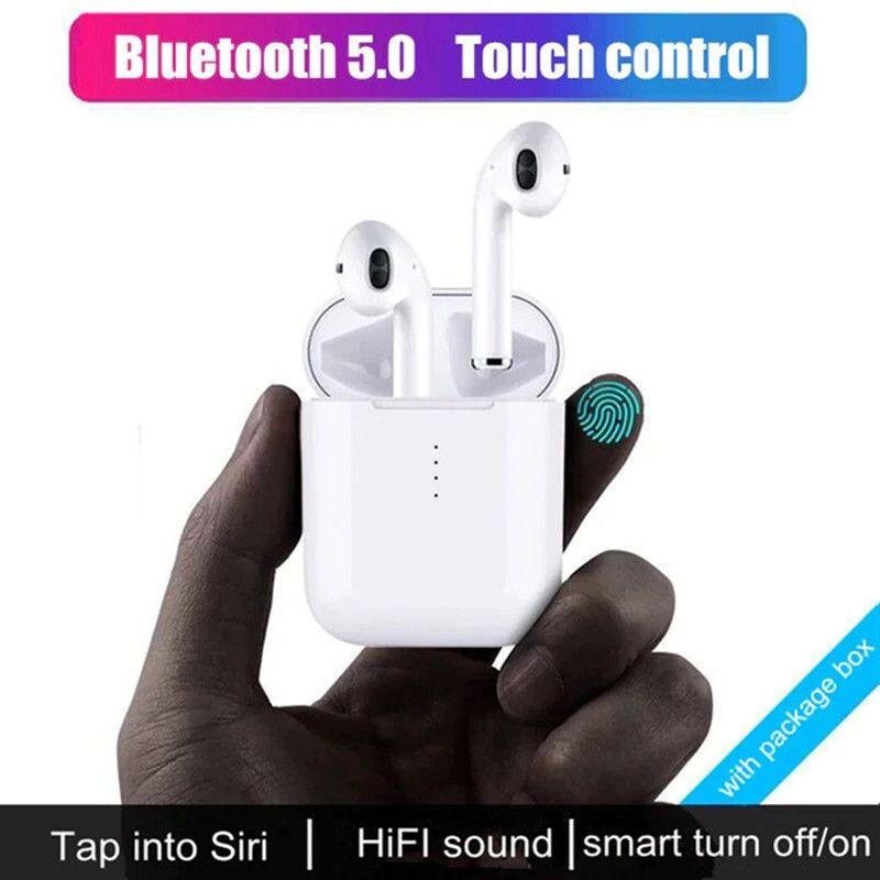 Nouveau i10 tws Bluetooth écouteurs sans fil écouteurs à commande tactile écouteurs 3D Surround son et étui de charge pour tous les smartphones