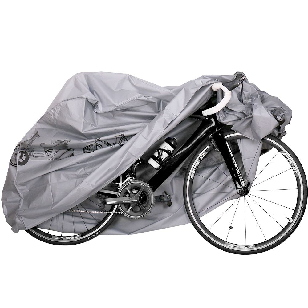DrBike Outdoor Portable Waterproof and Dustproof Bicycle Motorcycle Cover Bicycle Protect Gear Cycling with Seal Strapes