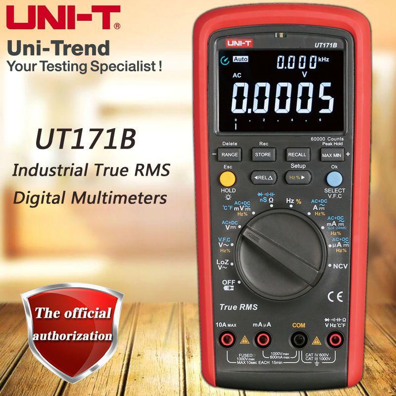 UNI-T UT171B Industrial RMS digital multimeter / VFC / NCV function / USB communication / ACV low impedance measurement