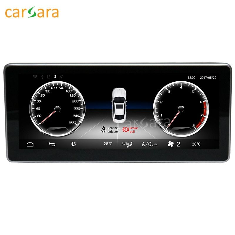 carsara Android display for Benz GLK X204 2013-2015 10.25 inch touch screen GPS Navigation radio stereo dash multimedia player