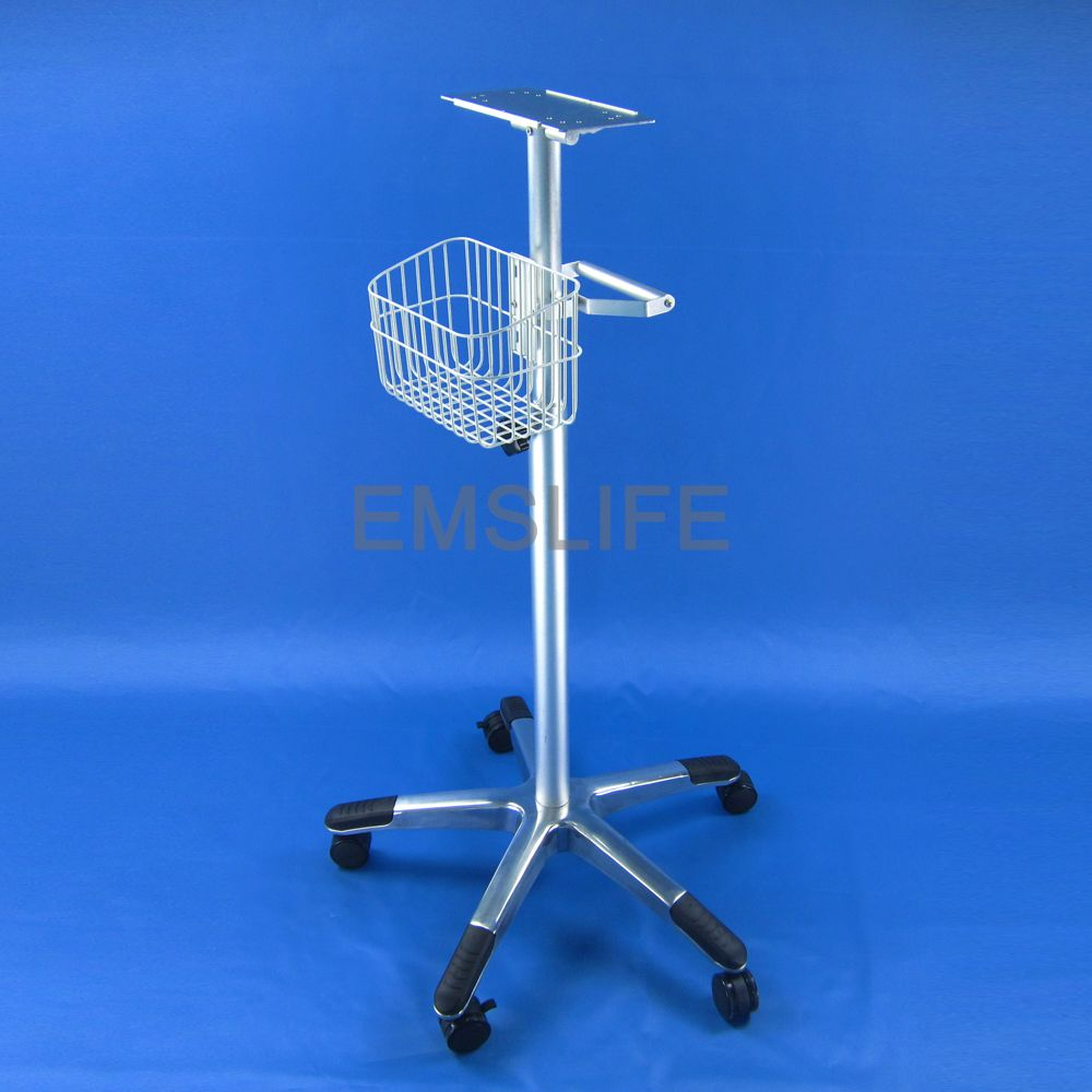 patient monitor rolling stand monitor trolley