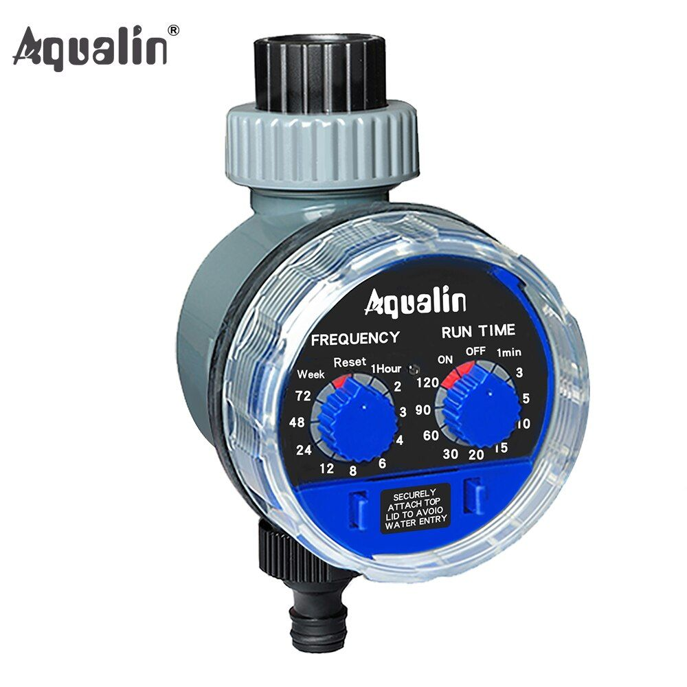 Garden Watering Timer Ball Valve Automatic Electronic Water Timer Home Garden Irrigation Timer <font><b>Controller</b></font> System #21025