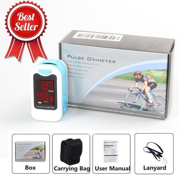 CONTEC CMS50M New Fingertip Pulse Oximeter Blood Oxygen Saturation SPO2 Heart <font><b>Rate</b></font> Monitor