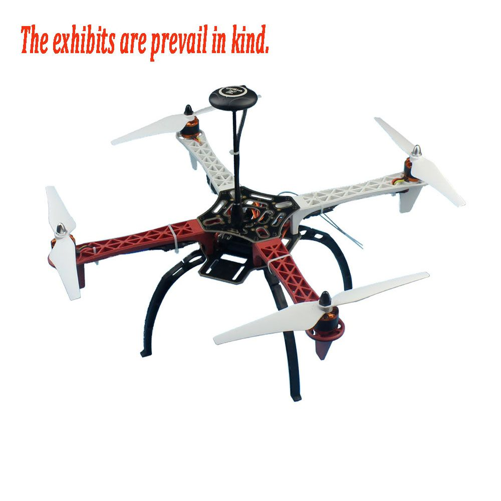 F02192-Y Full Kit RC Drone Quadcopter Aircraft Kit 2,4g 6ch F450 V2 Rahmen GPS APM 2,8 Flight Control Flysky FS-i6 Sender