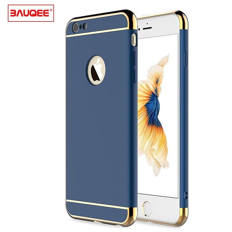 BAUQEE Case For iPhone 6 6s Plain Business Phone Cases for iPhone6 6s 6 Plus 6S Plus Matte Anti-knock phone case Funda