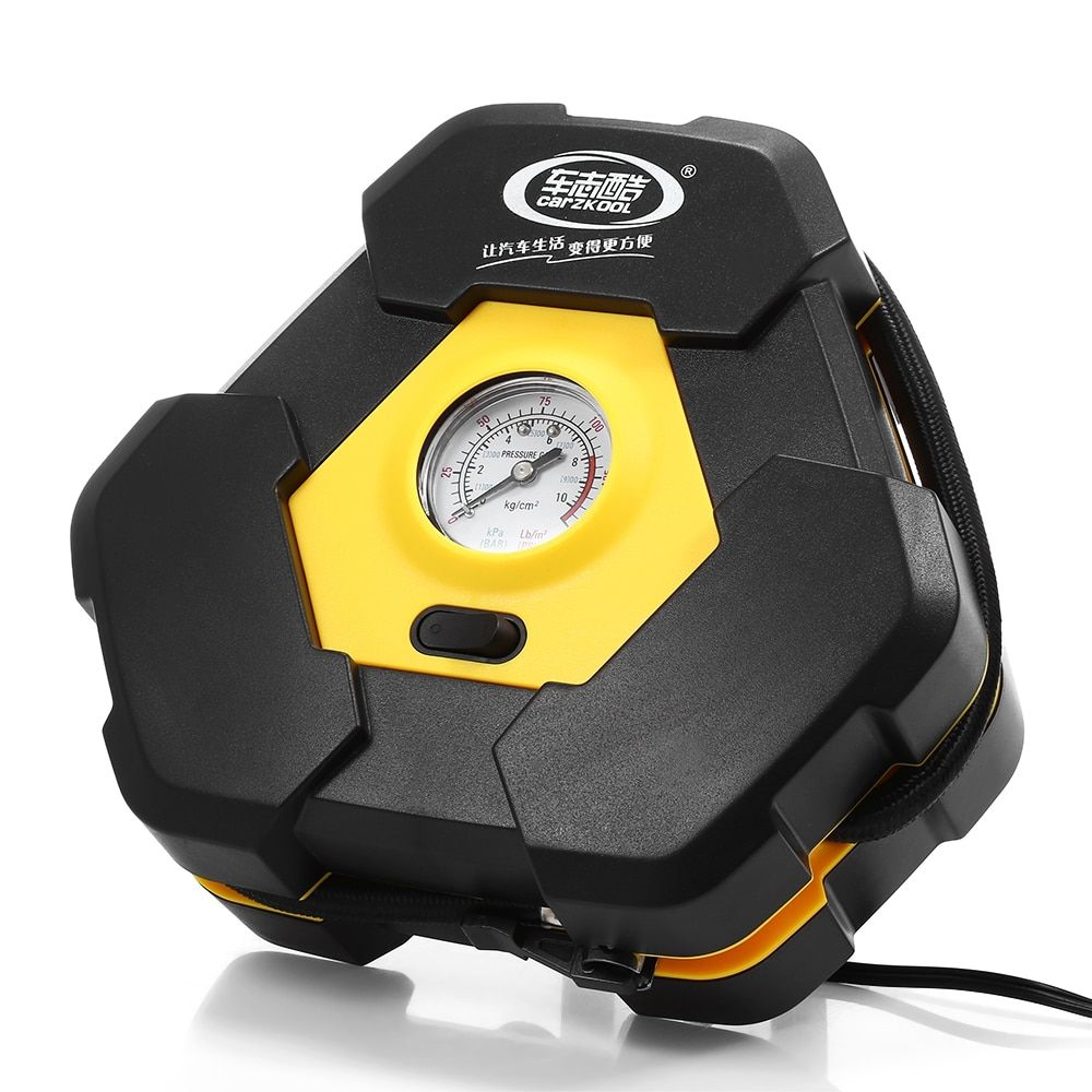 Portable 12V Car Auto Electric Air Compressor <font><b>Tire</b></font> Inflator Pump with 3m Long Extended Power Cord with Cigarette Lighter Plug