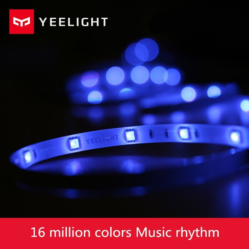 Xiaomi Yeelight RGB Strip Intelligent Light Band Smart Home Phone App Wifi Light Colorful Lamb LED 2M 16 Million 60 Leds